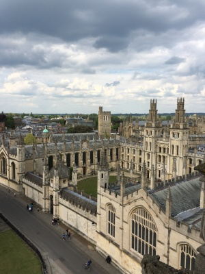 View from same: All Souls College